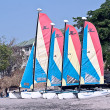Stock Photo: Catamarans