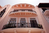 Vecchie case a panama city — Foto Stock