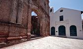 Old church Casco viejo Panama — Stock Photo