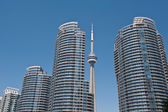 CN tower in Toronto, Ontario — Stock Photo