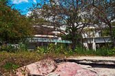 Run down property of Manuel Noriega in Panama — Stock Photo