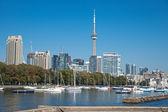 торонто высокий рост городской панорамы cn башня роскошный кондоминиум — Стоковое фото