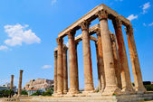 Temple of Olympian Zeus in Athens, Greece — Stockfoto