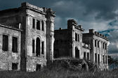 Ancient scary palace — Stock Photo
