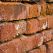 The old brick wall. — Stock Photo