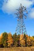 Reliance power line. — Stock Photo