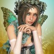Butterfly Girl — Stock Photo #7092048