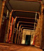 好奇的走廊 — 图库照片