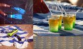 Beach composition — Stock Photo
