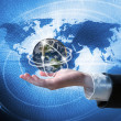 World business connection concept — Stock Photo