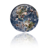 World Business Background — Stok fotoğraf