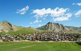 Tsetserleg town in Mongolia — Stock Photo