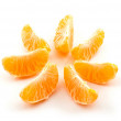 Stock Photo: Tangerine segments