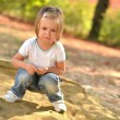 Stock Photo: Baby on the playground