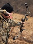 Bowhunter — Stock Photo