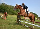Show jumping — Stock Photo