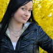 Outdoor portrait of a beautiful young woman — Stock Photo #7221846