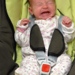 Baby in car seat — Stock Photo #7228061