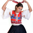 Traditional slovakian woman — Stock Photo #7295818