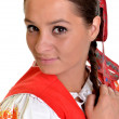 An image of a traditional slovakian woman — Stock Photo