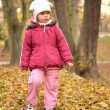 Baby in an autumn park — Stock Photo #7521769