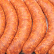 Hand made sausage - Stock Photo