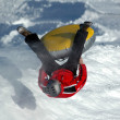 Snowtubing — Stock Photo