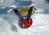 Snowtubing — Stock Photo