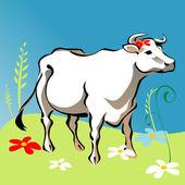 Cow vector — Stock Vector