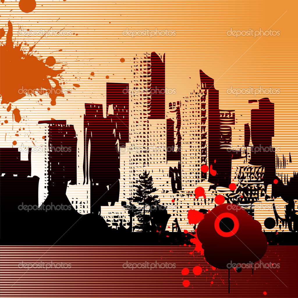 Urban art vector illustration — Stock Vector #7022923