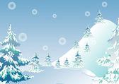 Winter ice vector — Stock Vector