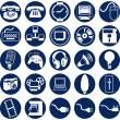 Icons vector - Stockvectorbeeld