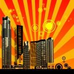 Vector urban art — Stock Vector