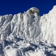 White as snow waste industry — Stock Photo