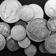 Silver antique coins — Stock Photo #7806970