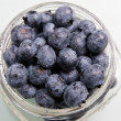 Stock Photo: Fresh Blueberries in Jar