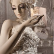 White Mannequin Bride - Stock Photo