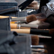 Make-Up and Brushes - Stock Photo