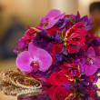 Red, Pink, and Purple Flowers — Stock Photo