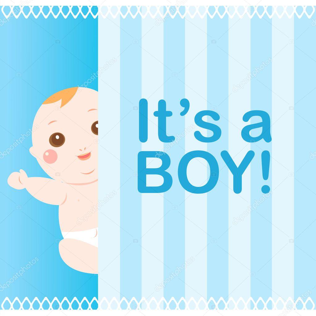 Baby Boy Shower Cards