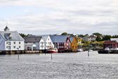 Fishing village Bud, Norway — Stockfoto