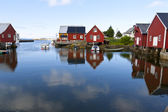 Fishing village Bud, Norway — Foto de Stock