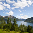 Beautiful mountain lake — Stock Photo