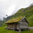 An old historic house in Norway — Stock Photo