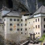 Medieval Predjama Castle near Ljubljana — Stock Photo #7403715