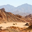 Sinai desert view — Stock Photo