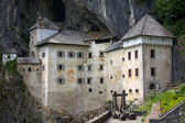 Medieval Predjama Castle near Ljubljana — Stock Photo
