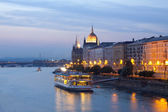 Night view of Budapest — Stock Photo