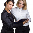 Stock Photo: Two business women
