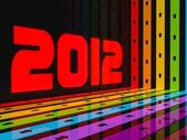 2012 Happy new year! — Stock Photo